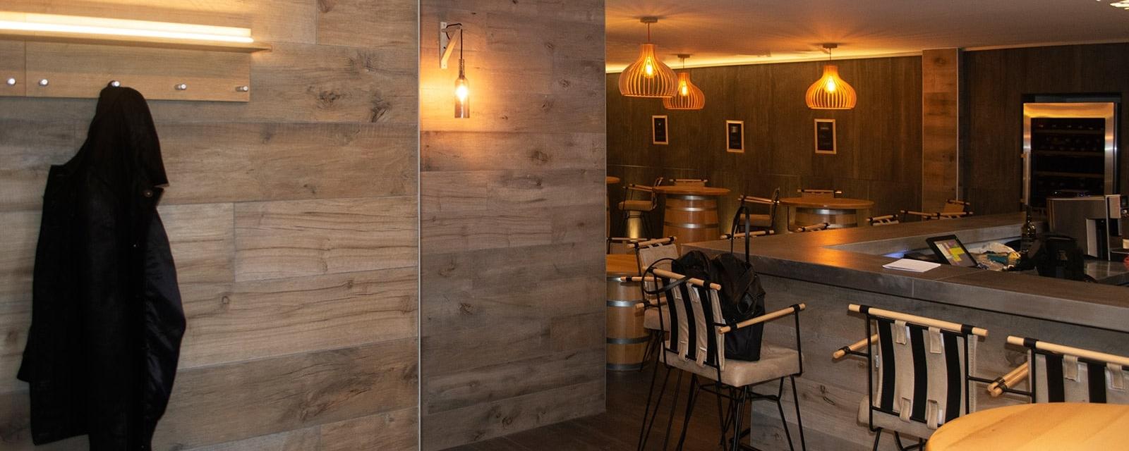 Bar à vin –Changement d'affectation d'un local de torréfaction en bar à vin dans la zone ville ancienne, La Chaux-de-Fonds