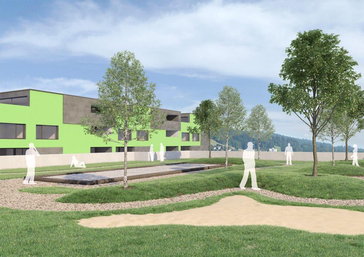 Collectif 3 – Projet architectural, La Chaux-de-Fonds