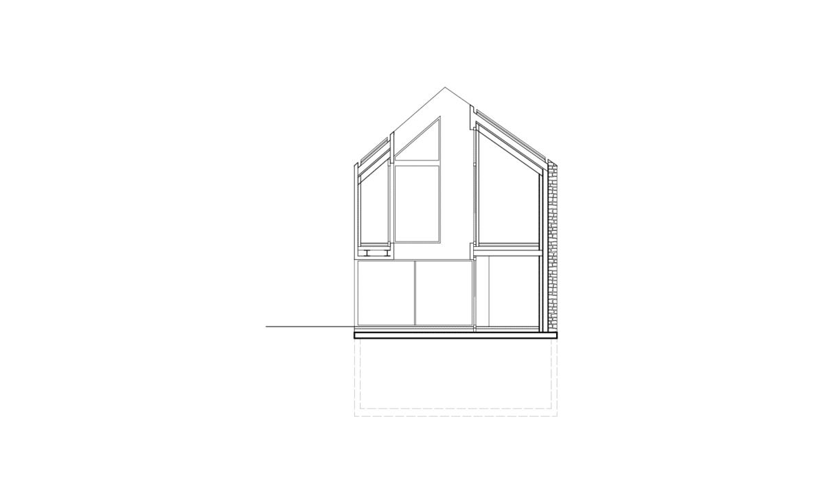 Étriqué – Projet de reconstruction après démolition, Concise
