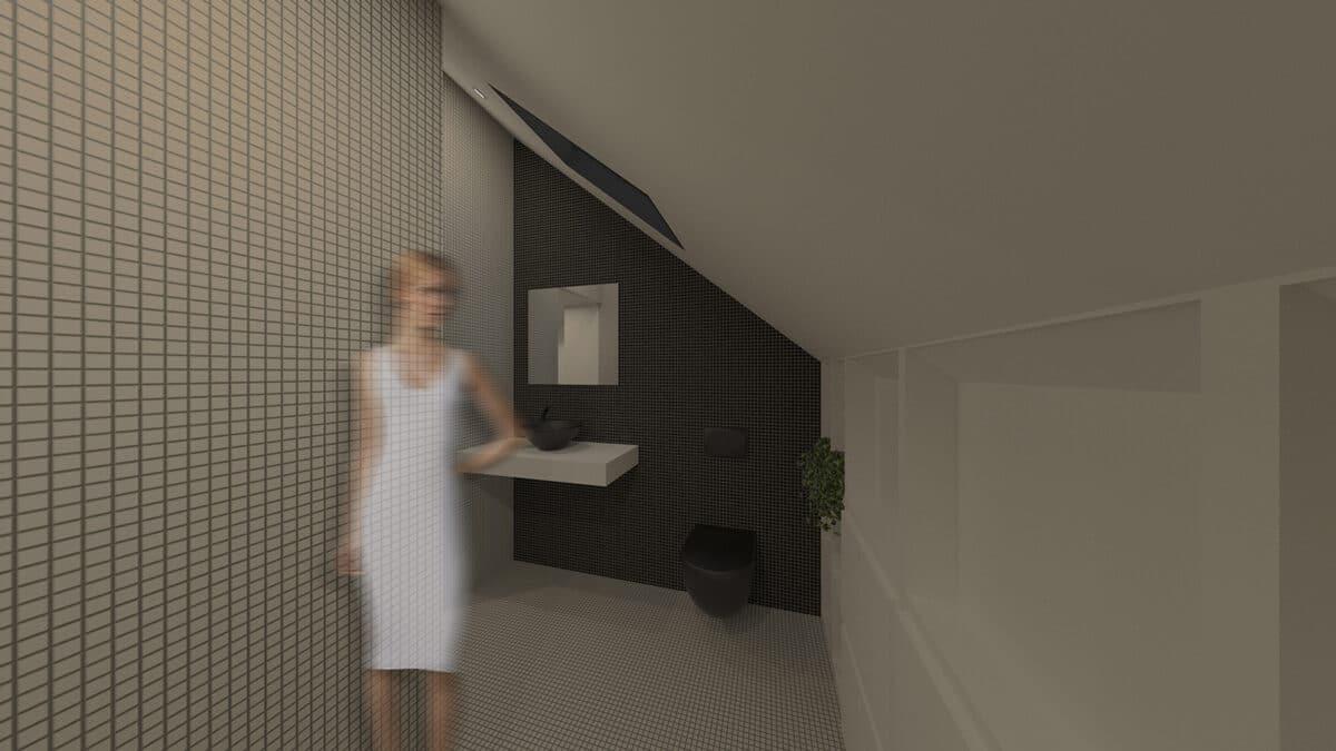 Habitat Minimal – De l'atelier et vieux grenier à la tiny house, La Chaux-de-Fonds – Toilettes