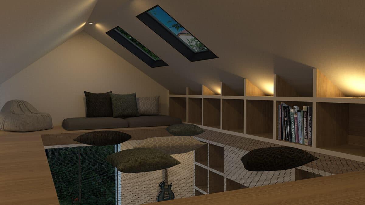 Habitat Minimal – De l'atelier et vieux grenier à la tiny house, La Chaux-de-Fonds – Filet