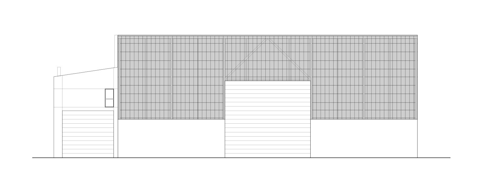 Centre de tri des métaux – Création d'une halle de manutention avec un logement de fonction, La Chaux-de-Fonds
