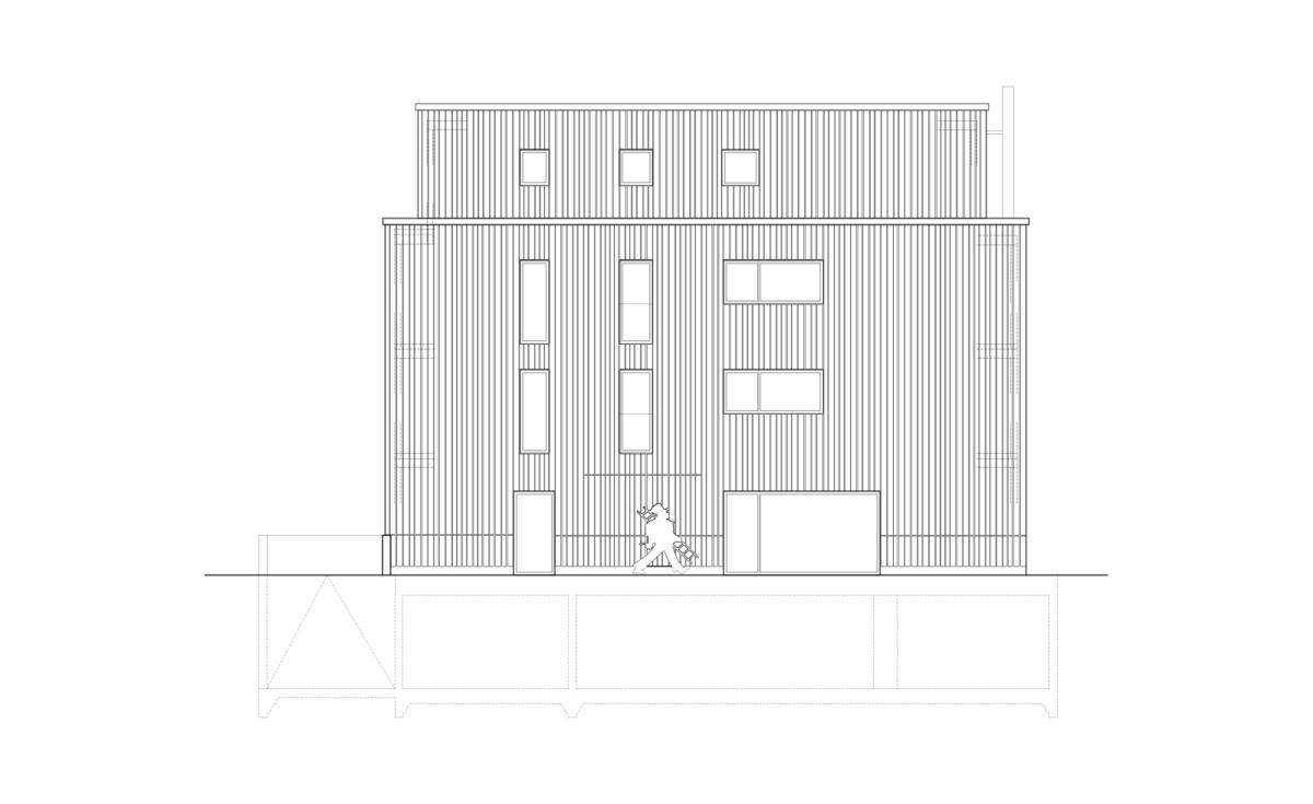 Immeuble pour un ramoneur – Entreprise de ramonage et logements PPE, La Chaux-de-Fonds
