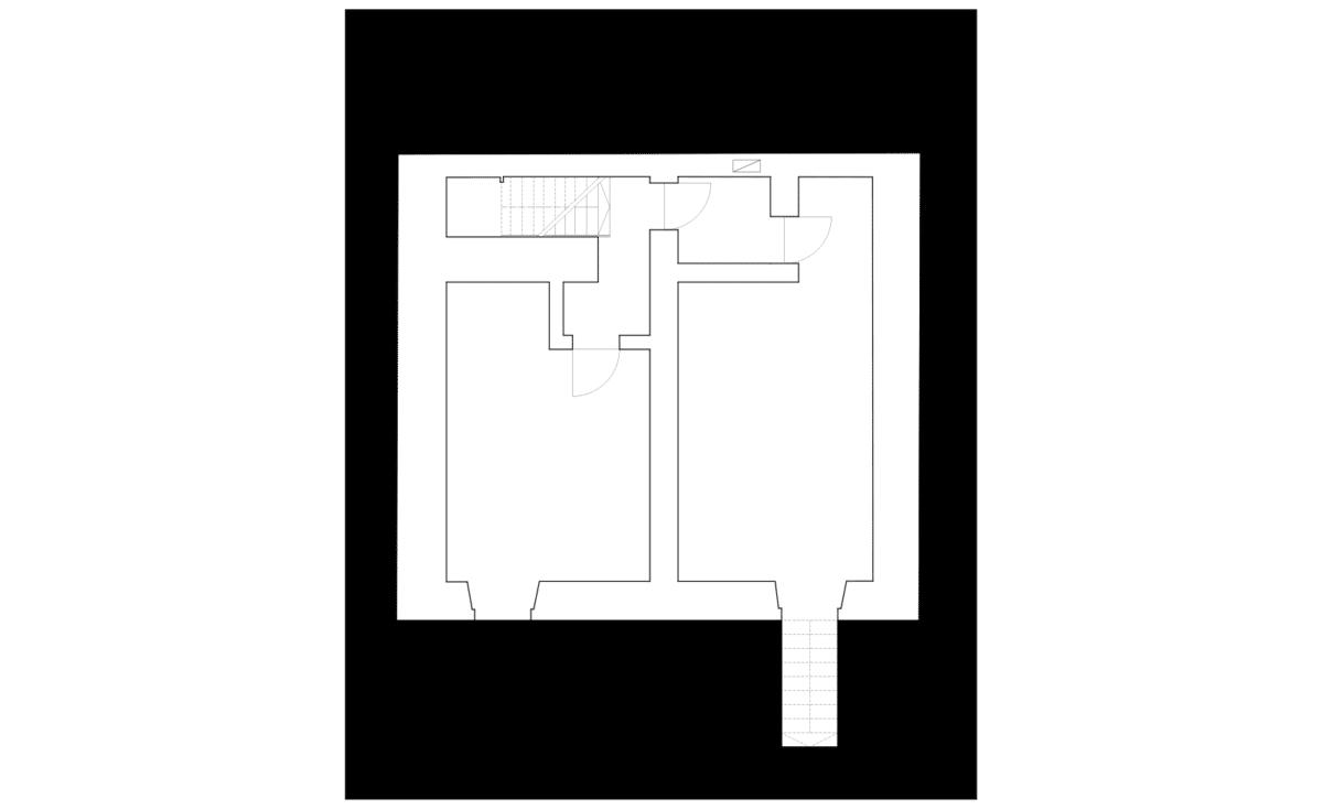 La Plage à La Tchaux – Rénovation et transformation d'un immeuble de la ville ancienne en espace multi associatif