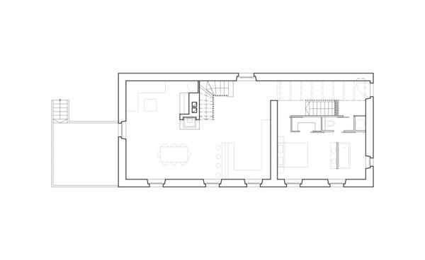 Nouvelle Génération –Projet architectural, plan