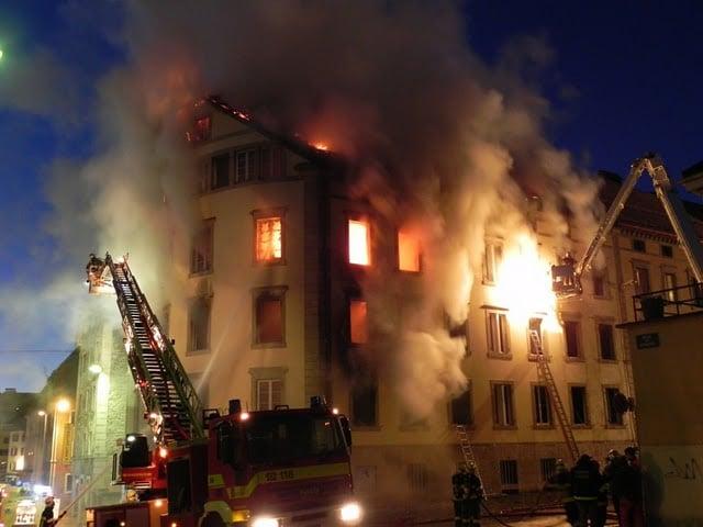 PARC 1Parc 1 – Reconstruction après sinistre, La Chaux-de-Fonds