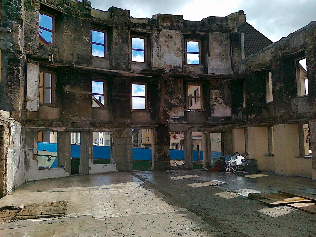 Parc 1 – Reconstruction après sinistre, La Chaux-de-Fonds