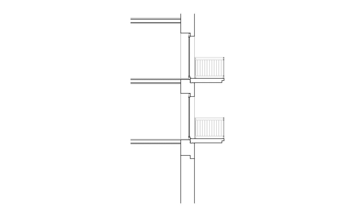 Patrimoine au balcon – Création de balcons en zone ville ancienne, La Chaux-de-Fonds