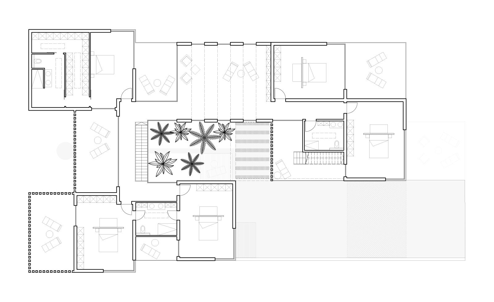 Une villa au Maroc – Projet architectural à Bouznika